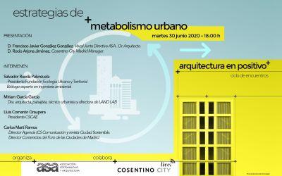 "Encuentro ASA ""Estrategias de Metabolismo Urbano"""