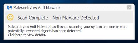 Scan_Complete_Malwarebytes_Anti_Malware_sos-malware. Tutorial Malwarebytes Anti-Malware