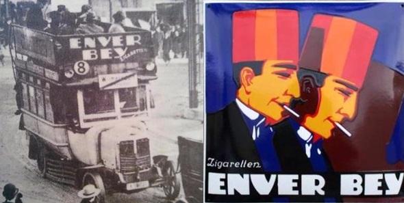 Resim 1. Enver Bey Sigarası markası