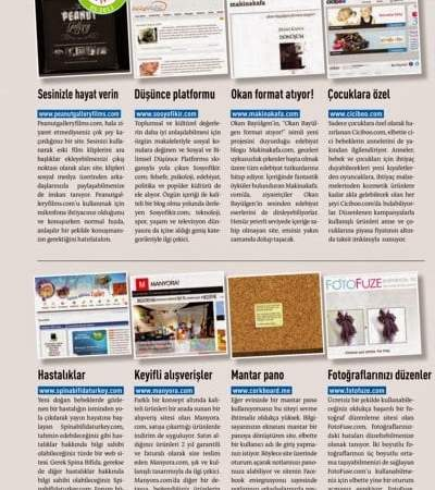 Sosyofikir Chip Dergisi Mart Sayısında