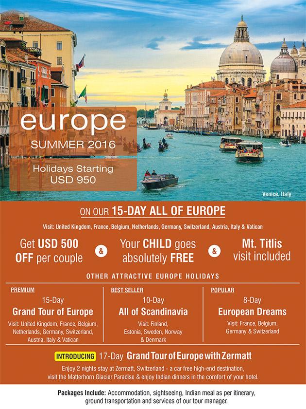 Europe Summer 2016 SOTC