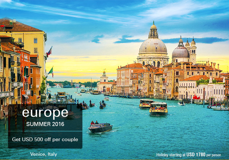 Europe Honeymoon Packages Sotc