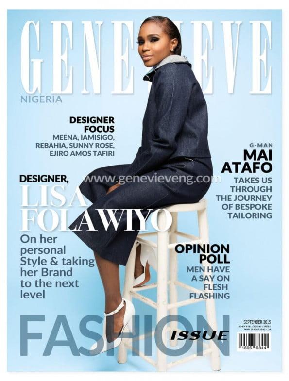 Lisa Folawiyo fr Genevieve Magazine