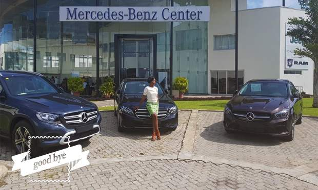 Mercedes-Benz World PR Beauty Business Week