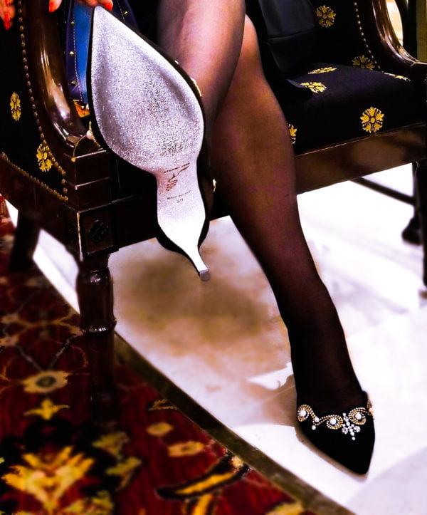 swarovski shoes