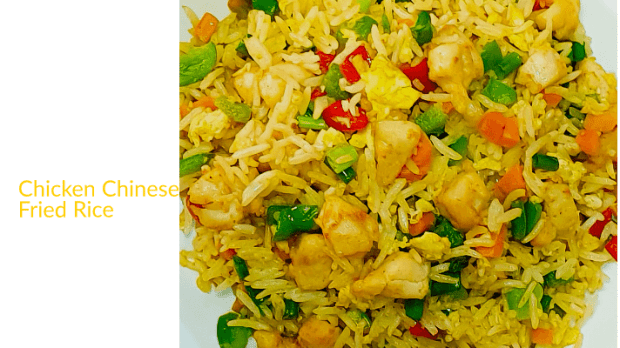 Chicken with Chinese Fried Rice