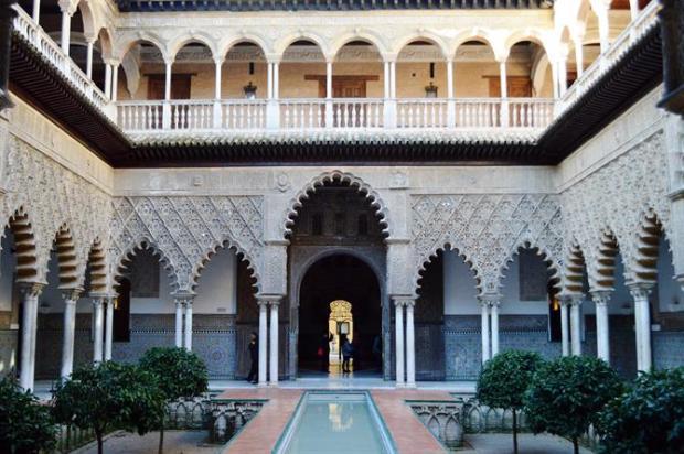 Real Alcázar Palace, Seville, Spain