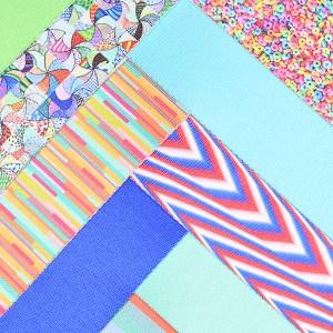 nastri stampati tessuto