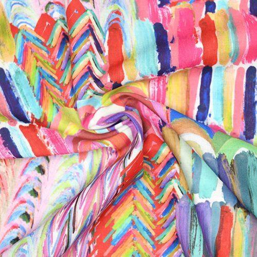 tessuto stampato in nylon