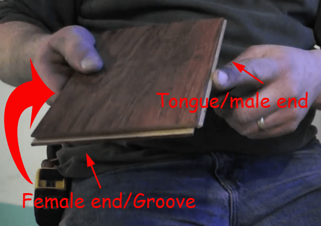 cheater board with tongue and groove