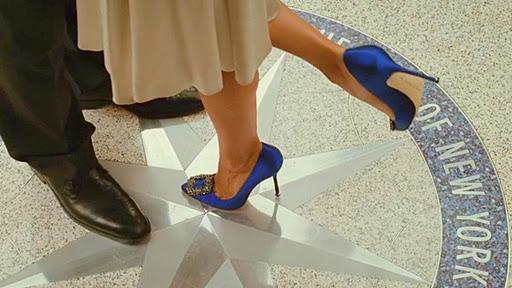 Something Blue Manolo Blahnik | Carrie Bradshaw