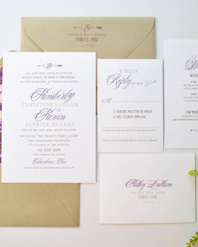 Setting The Tone With Your Wedding Stationery