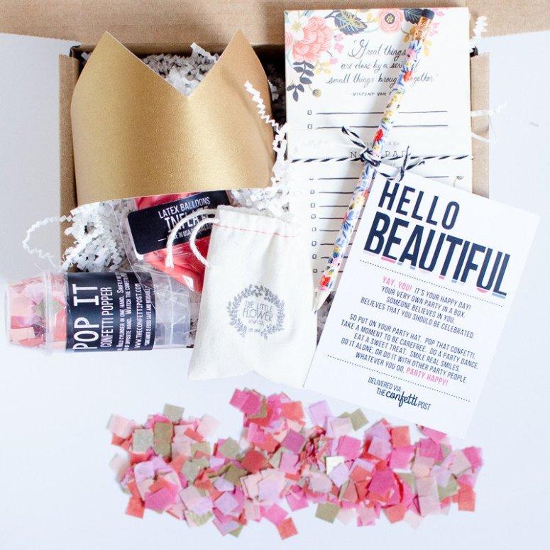 confetti post subscription box