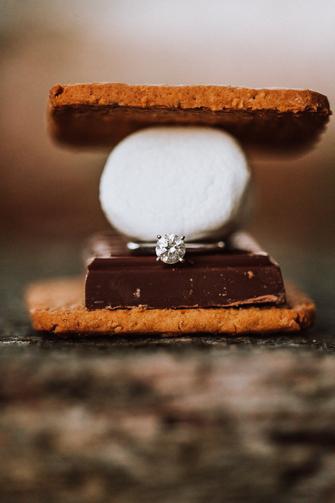Engagement Ring in Smores
