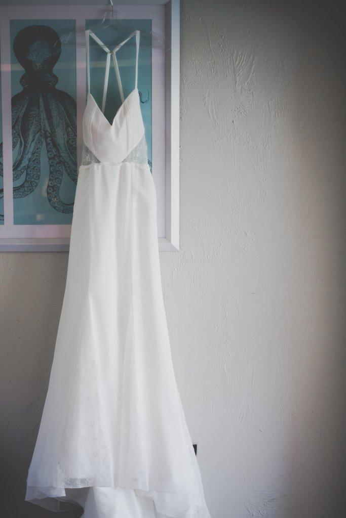 Hawaiian Themed Wedding Dress