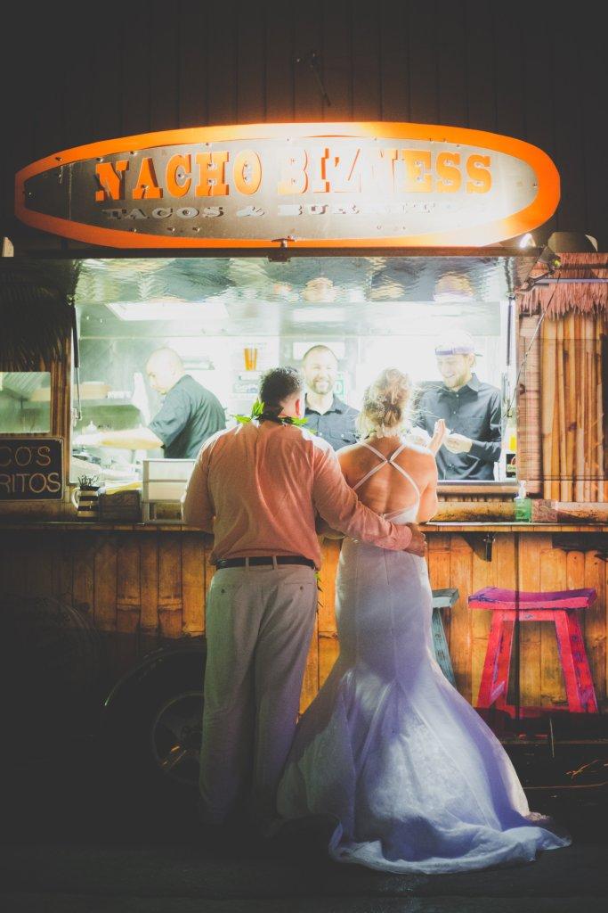 Hawaiian Wedding Food Truck