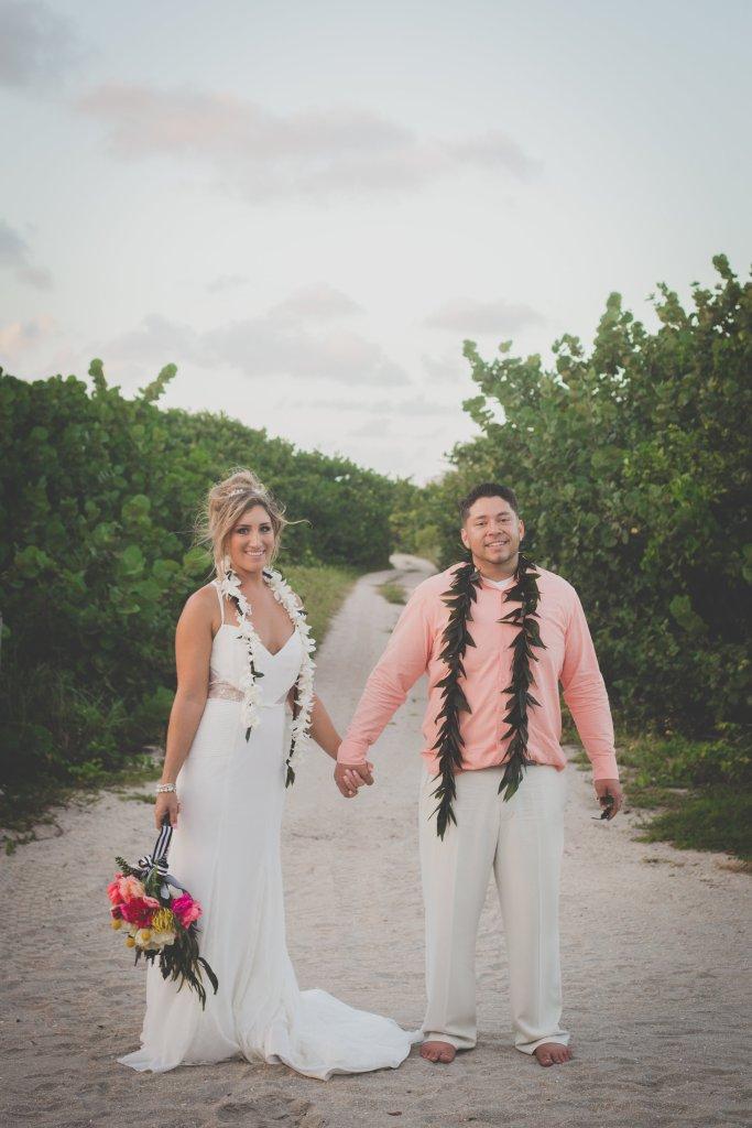 Lei Wedding Ceremony
