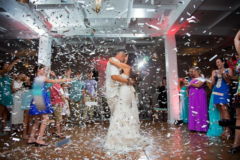 Confetti Wedding Send Off