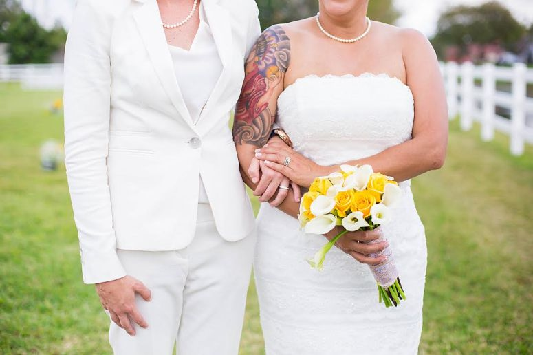 Brides with Tattoos | So This Is Love Wedding Blog