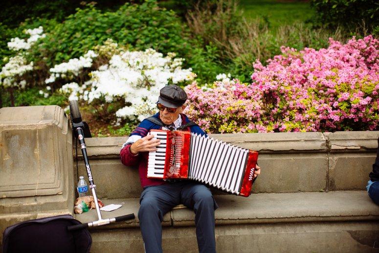 Street Performer in New York City
