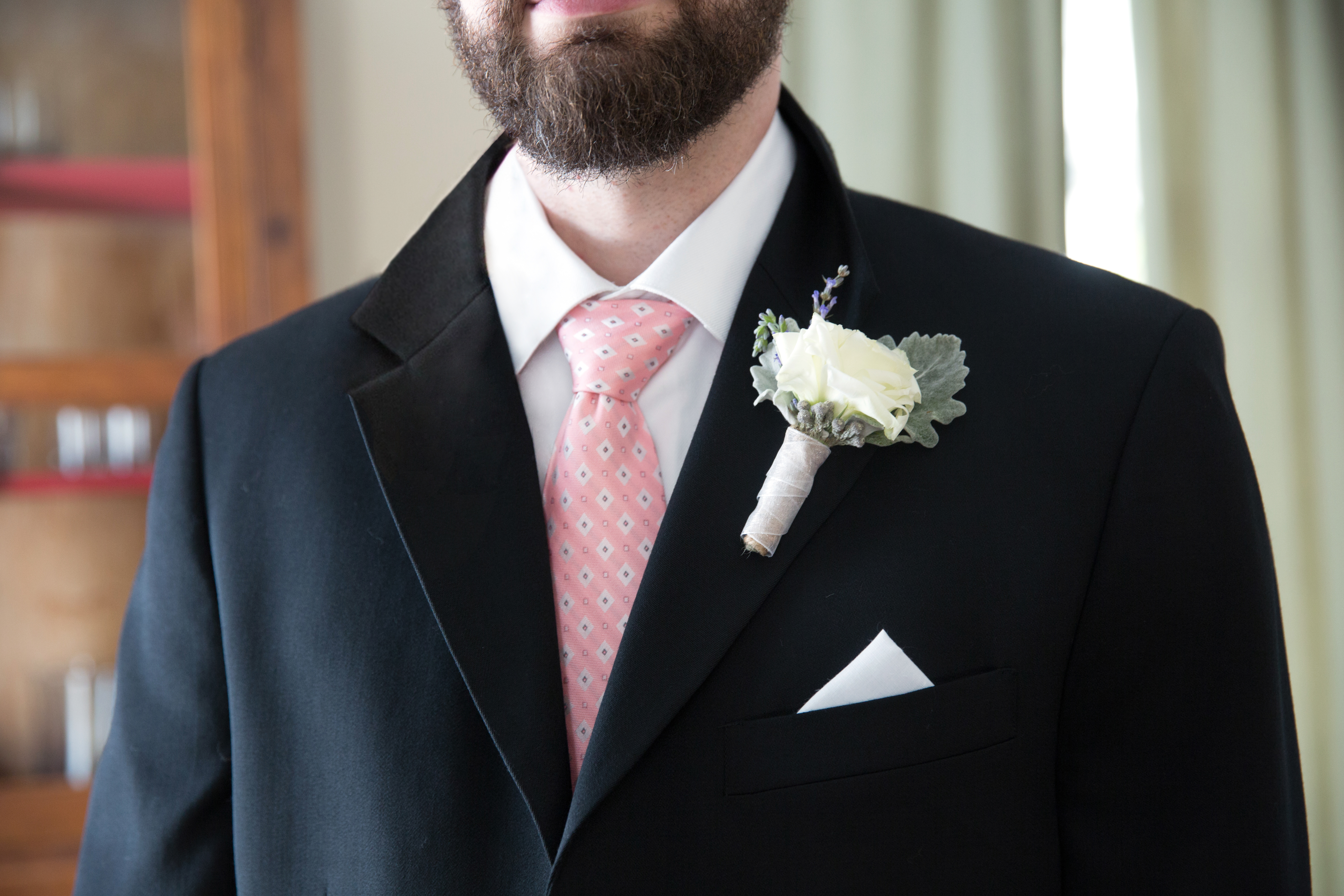 Succulent Boutonniere for Groom