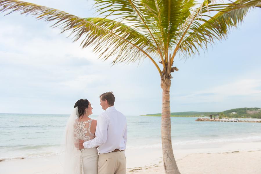 Destination wedding on the beach, Montego Bay