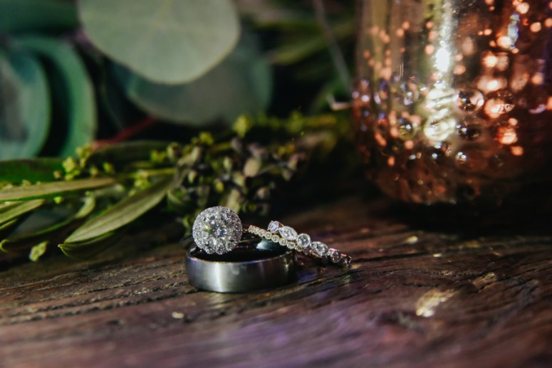 Bride and Grooms Rings