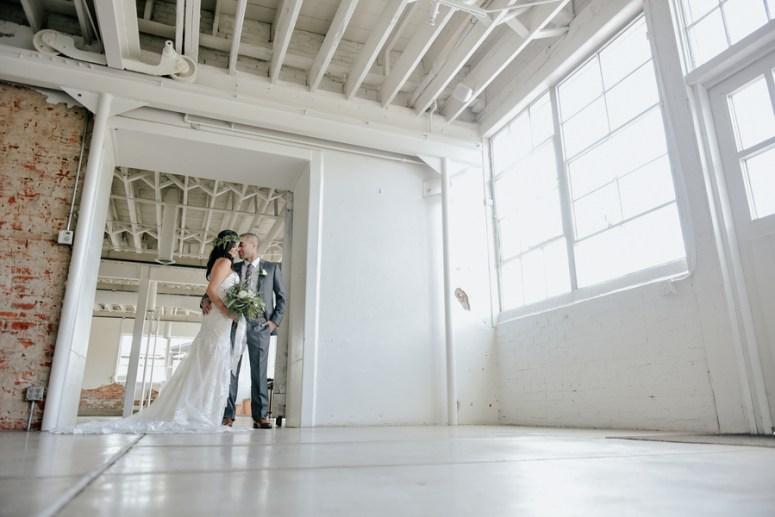 Industrial Wedding at Blanc in Denver