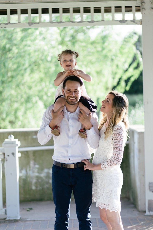 Whimsical Family Engagement Photo Session