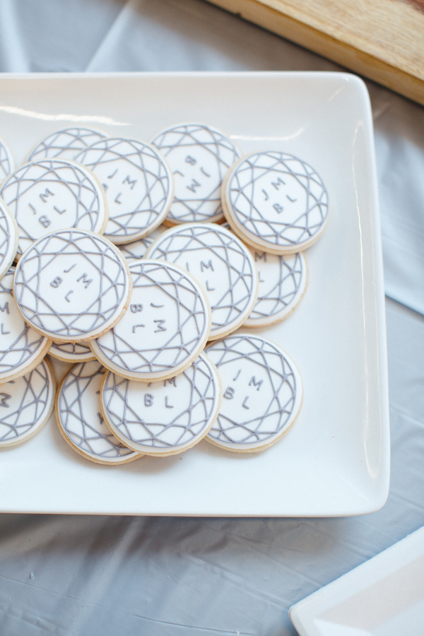 personalized wedding day cookies