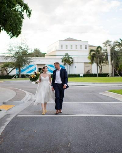 An Elopement in West Palm Beach Florida