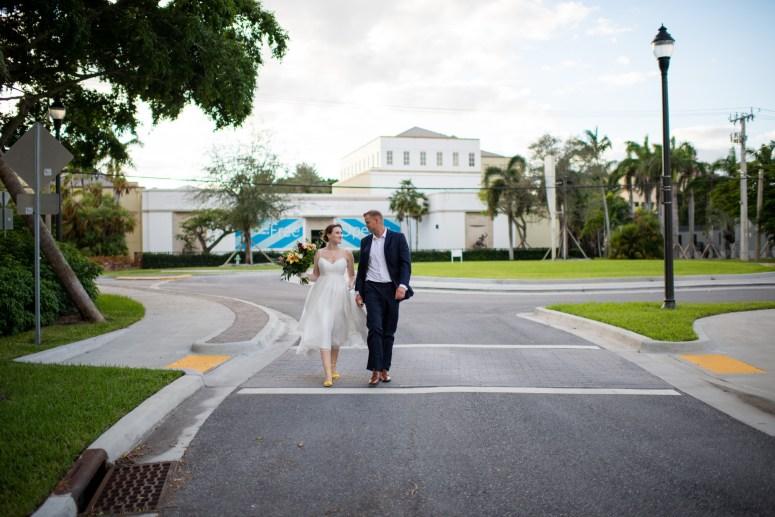 Downtown Wedding Photo Shoot
