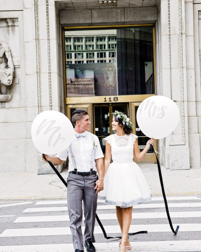 Chicago Courthouse Pop-Up Wedding