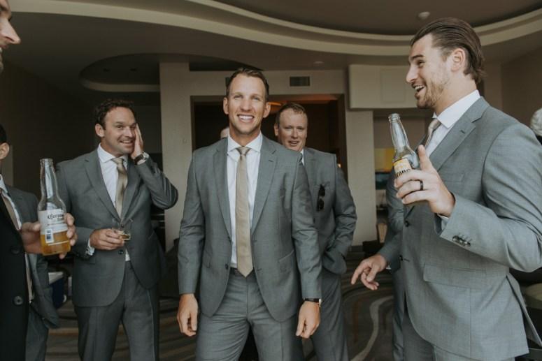 Groomsmen toasting, groomsmen portraits