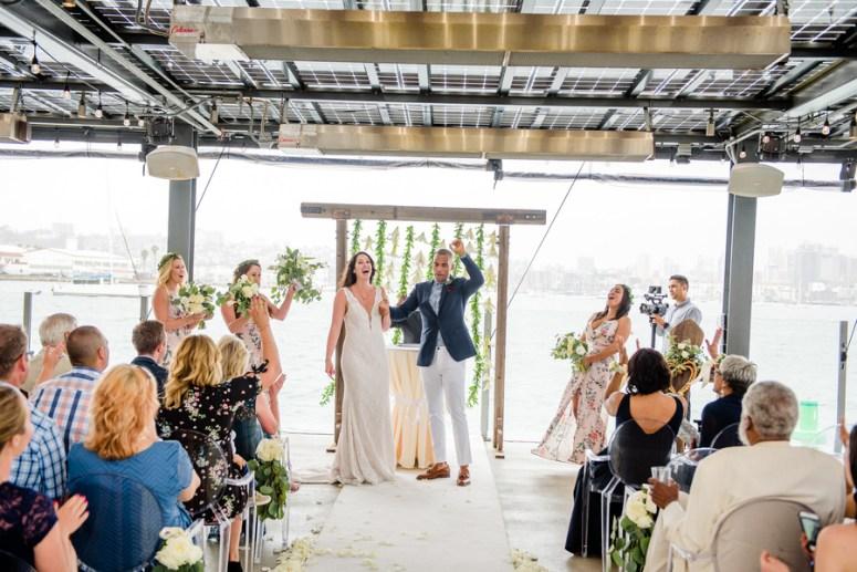 San Diego Wedding Ceremony, Waterfront Wedding Ceremony