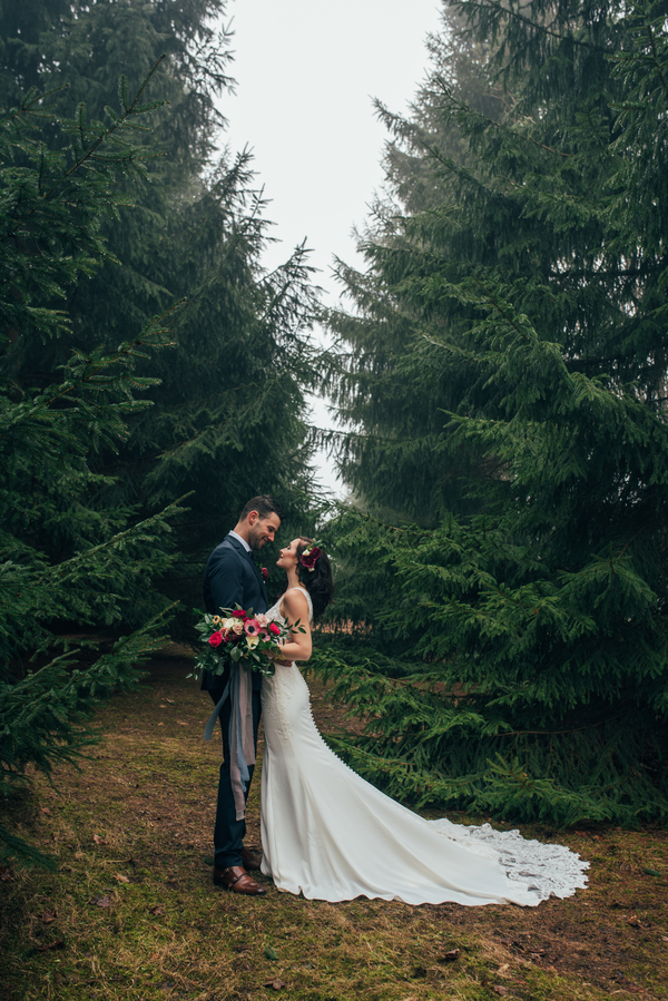 Ontario Wedding, Ontario Wedding Photographer, Winter Wedding