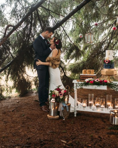 A Woodland Inspired Fairytale Wedding in Ontario