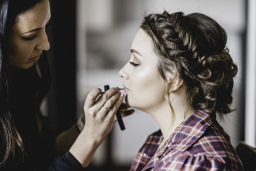 Glam to Go, Pittsburgh wedding makeup