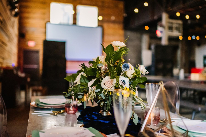 Loflin Yard Wedding, Memphis Wedding, Rock and Roll Bride, Modern Wedding, restaurant wedding reception