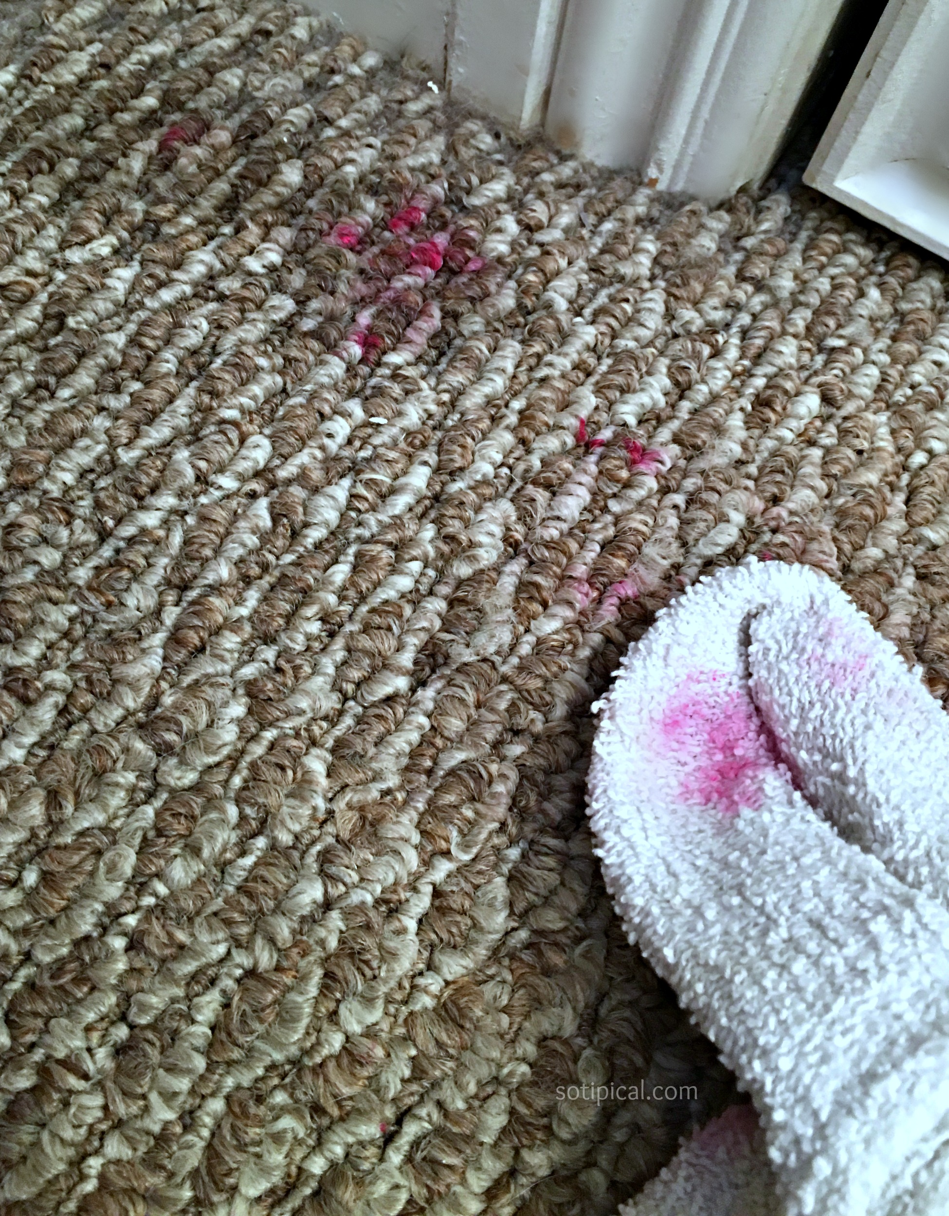Before You Attempt To Remove The Nail Polish Stain I Highly Remend Testing This In A Small Inconuous Area Make Sure Acetone Does Not Damage