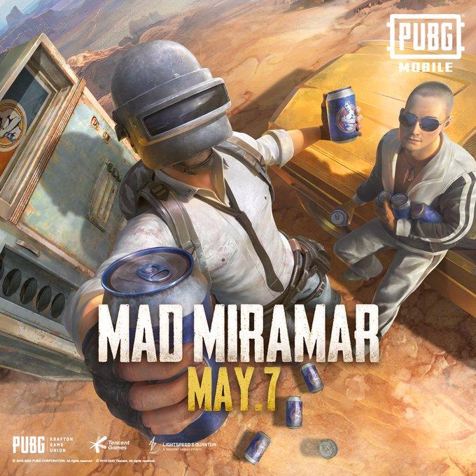 """طريقة تغيير اسم في ببجي موبايل pubg mobile تنزيل تحديث بوبجي الجديد مايو 2020 """"ميرامار"""""""