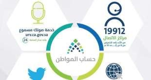 رقم حساب المواطن المجاني 1441 وسائل اتصال خدمة العملاء الإلكترونية على مدار 24 ساعة