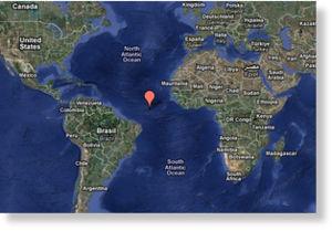 przybliżona ostatnia lokalizacja AF447
