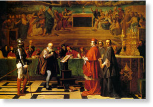 Galileo before the Holy Office