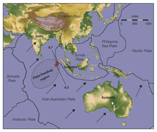 Indian Ocean Plates