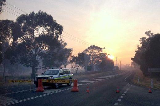Tasmania fire