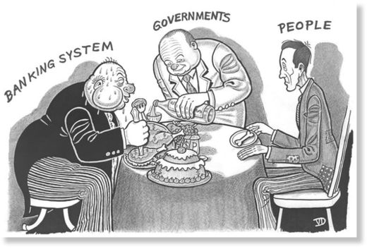 banking, government
