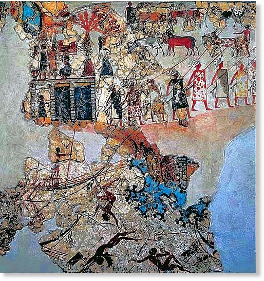 Computers tackle Akrotiri fresco puzzles  Science