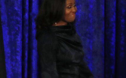 b0755f99df3a Michelle Obama unveils official portrait audience reaction says it