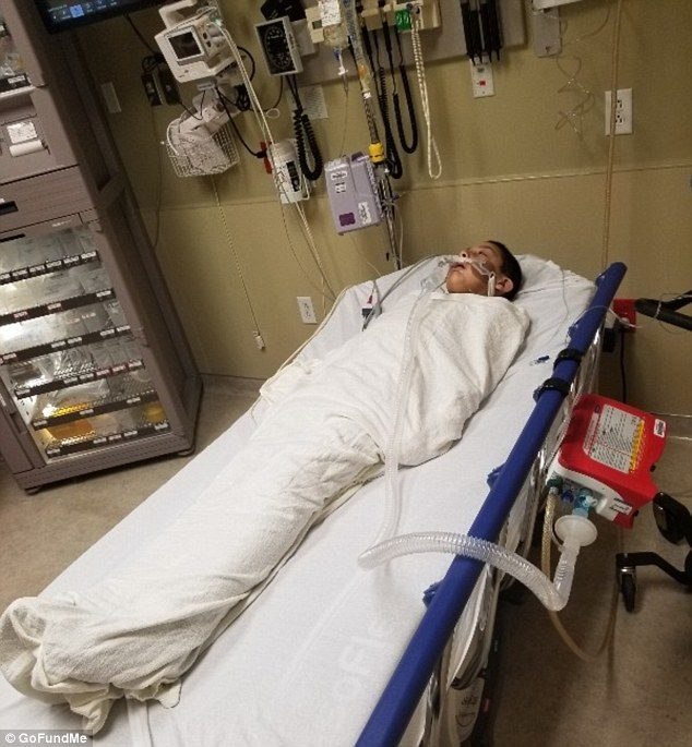 New Mexico boy on life support after flu symptoms turned out to be ...